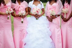 Pink and Ivory Fairytale Wedding From Still-Life Media: Angela and Ike