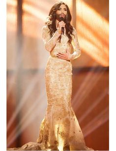 Conchita Wurst Phoenix, Mermaid, Formal Dresses, Fashion, Dresses For Formal, Moda, Formal Gowns, Fashion Styles, Formal Dress