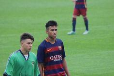 Asysta po prostu palce lizać, czyli gol tygodnia w La Masii • Piłkarz FC Barcelony Jordi Mboula strzelił takiego gola • Zobacz >> #FCBarcelona #Barcelona #Goals #LaMasia #Soccer #Sports #Piłkanożna #Football