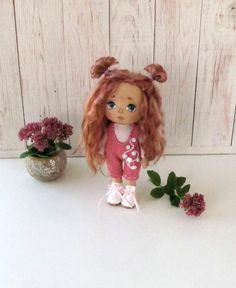 Lerika Doll  Textile Doll  Fabric Doll  Interior by LerikaDolls