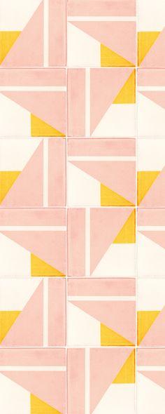 Tapis Design, Tile Design, Pattern Design, Textile Patterns, Print Patterns, Interior Inspiration, Design Inspiration, Contemporary Tile, Geometric Tiles