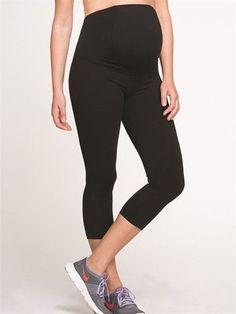 Active Capri Legging- Black