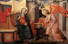 Filippo Lippi The Annunciation