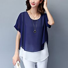 Blouses For Women, T Shirts For Women, Curvy Fashion, Womens Fashion, Green Blouse, Blouse Online, Casual T Shirts, Baby Dress, Blouse Designs