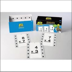 Hot Dots® Multiplication Math Flash Cards