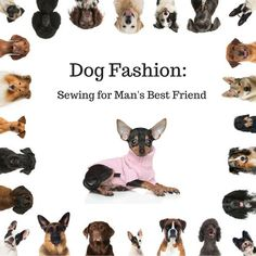 Sewing Men Projects Dog Fashion: Sewing for Man's Best Friend - The approach of the cold months in the northern hemisphere got me thinking about clothes for man's best friend and inevitably about dog fashion. Sewing Hacks, Sewing Tutorials, Sewing Projects, Sewing Ideas, Sewing Tips, Sewing Designs, Sewing Men, Love Sewing, Hand Sewing