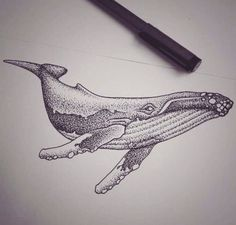 Whale tattoo inspiration