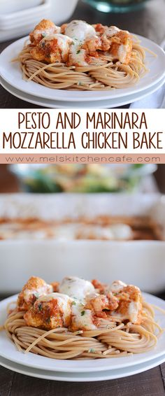 Impress your family or guests with this simple pesto chicken bake. One of the easiest pasta dishes to prepare and so yummy!