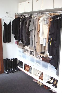 my apartment (alcove): dressing area by laura.cattano, via Flickr