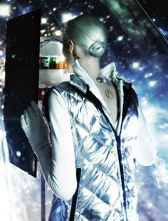 """Aquarius - """"Lost in Cyberspace"""" Julia Nobis by Steven Meisel for W Magazine March 2014 - http://www.simplysunsigns.com/"""