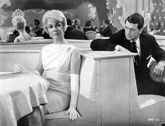 Pillow Talk - I love Rock Hudson in this old movie with Doris Day