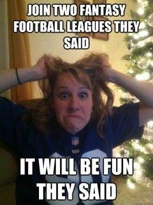 Start/ Sit Fantasy Football, I like sports, but I really like fantasy football.