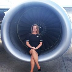 oo Carol Kirkwood, Airline Uniforms, National Airlines, Trains, Intelligent Women, Air France, Cabin Crew, Air Travel, Flight Attendant