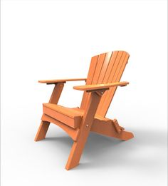 Malibu Outdoor Living Hyannis Folding Adirondack Chair
