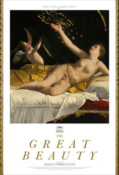 """MM Archives : Early poster concept for Paolo Sorrentino's """"The Great Beauty"""""""