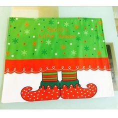 Christmas New Elves Printing Table Mat