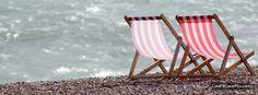 beach chairs. Facebook cover - Portada Facebook - Couverture Facebook