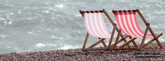 beach chairs. Facebook cover - Portada Facebook - Couverture Facebook