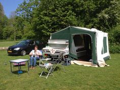 Proef draaien op de dagcamping in het Haarlemmermeersebos
