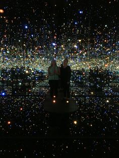 The Infinity Room at The Broad Museum in Los Angeles