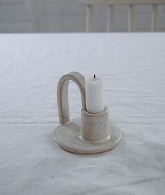 COMING SOON – A series of one of a kind candleholders – Hear Hear #PotteryClasses