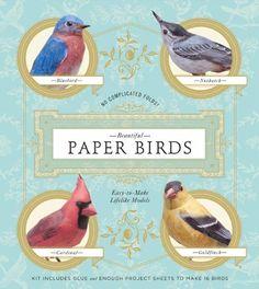 Beautiful Paper Birds: Easy-to-Make Lifelike Models by Johan Scherft http://www.amazon.com/dp/1454908165/ref=cm_sw_r_pi_dp_UvEeub1EK08GZ
