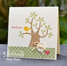 Stampin' Up ideas and supplies from Vicky at Crafting Clare's Paper Moments: Get Nuts About You from Stampin' Up - free!