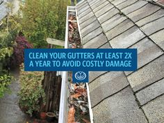 For homeowners, cleaning your gutters is a routine home maintenance task. Learn why it is so important to clean your gutters and how often you need to do them. Plus, consider these do-it-yourself gutter cleaning tips. Gutter Cleaning, Roof Cleaning, Cleaning Hacks, Pressure Washing, Window Cleaner, Home Hacks, Home Insurance, Diy Organization, Clean House