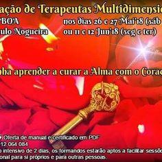 Está a aproximar-se mais um curso em Lisboa 26 e 27 Maio. Vai perder? Www.treenaturaterapias.com/curso-terapia-multidimensional/