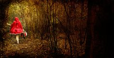 Little Red Riding Hood by ~Lady-photographer on deviantART. What an awesome image.