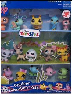LPS Collector Packs: Littlest Pet Shop Collectibles Lps Littlest Pet Shop, Little Pet Shop Toys, Fun Things, Cool Things To Buy, Lps Toys, Toy Craft, Cute Toys, Shops, Spirit