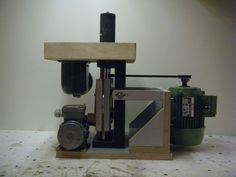 Shopmade woodworking machinery Shopmade oscillating spindle sander - by…