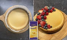 The incredible Caramilk cheesecake thousands are going wild for Flavored Cream Cheeses, Cream Cheese Bread, How To Make Cheesecake, Cheesecake Recipes, Dessert Recipes, Nice Biscuits, Birthday Cheesecake, Carapace, Baking Tins