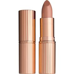 Charlotte Tilbury K.I.S.S.I.N.G lipstick (605 HNL) ❤ liked on Polyvore featuring beauty products, makeup, lip makeup, lipstick, beauty, lips, fillers, charlotte tilbury and moisturizing lipstick
