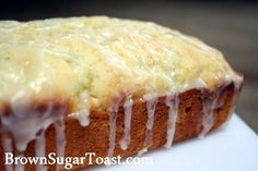 Zuchinni/Lemon Bread