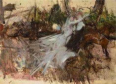 """""""A Midsummer Night's Dream"""", 1897, by Giovanni Boldini (Italian, 1842-1931)."""