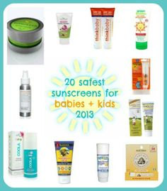 Each year we eagerly await the Environmental Working Group's list of the safest sunscreens for kids (and grownups too) and we're so glad to...