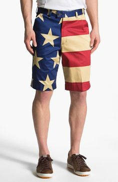 Loudmouth Golf Old Glory Golf Shorts available at #Nordstrom