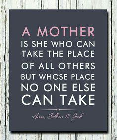So very true. Love you Mom