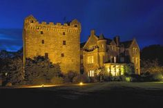 Comlongon Castle in Dumfries, Scotland ♥ where Steven and I got married