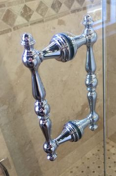 Shower Door Pull V1c6x6pn Crl Polished Nickel 6
