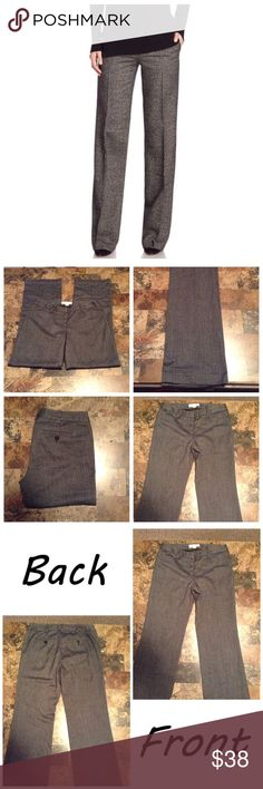 "Michael Kors Tweed Pants First pic of model wearing this style of Pants. Last 3 pics are of actual item/color.  Size 4. The Colors are a beautiful black and gray blend.  64% polyester & 34% Rayon 2% spandex. 4 pockets. With belt Loops. The Leg Opening ""9.5. Length ""41. The Rise ""8.5. Laying flat ""14.5. Inseam ""32. This Item is not new, It is used and is in Good condition. Please use Offer button, I will not negotiate in the comment section. Smoke/Pet free home. Thanks✨😀 Michael Kors Pants…"