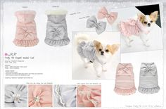 Manteau chien Elegant Pretty Pet - vêtement chien #prettypet #chihuahua sweetie dog www.sweetiedog.com