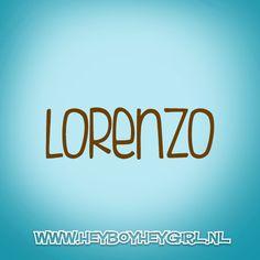 Lorenzo (Voor meer inspiratie, en unieke geboortekaartjes kijk op www.heyboyheygirl.nl)
