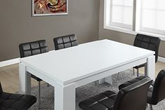 Monarch Specialties White HollowCore Dining Table 36 x 60Inch >>> You can find more details by visiting the image link.Note:It is affiliate link to Amazon.