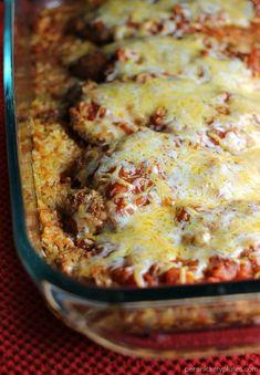 Baked Salsa Chicken Casserole