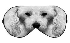 Poodle Dog Sleep Eye Mask Masks Sleeping mask by venderstore