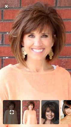Shaggy Medium Length Bob - 60 Messy Bob Hairstyles for Your Trendy Casual Looks - The Trending Hairstyle Bob Hairstyles For Fine Hair, Layered Bob Hairstyles, Haircut For Thick Hair, Short Layered Haircuts, Hairstyles Over 50, Trendy Haircuts, Older Women Hairstyles, Modern Hairstyles, Medium Hair Cuts