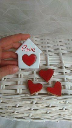 magnete cuore, amore, casa...