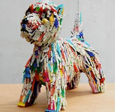 1000 images about stuff made out of stuff on pinterest - Cool stuff made from junk ...